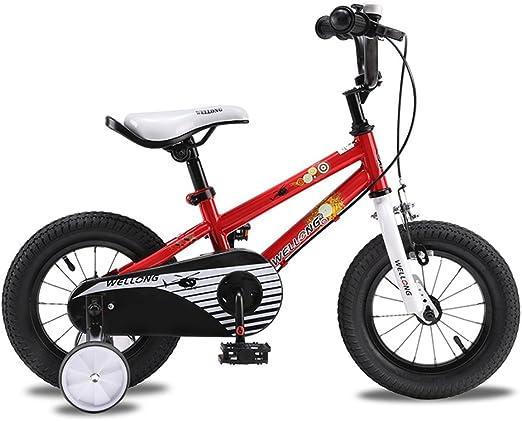 XQ- Niño Niño 12 Pulgadas Bicicleta Bicicleta Chico Cochecito De ...
