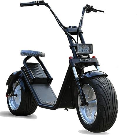 ECOXTREM Moto electrica Scooter de 1200w bateria 60v 12Ah Caigiee ...