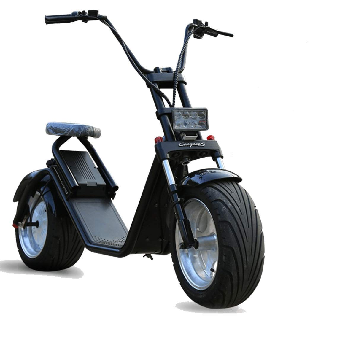 ECOXTREM Moto electrica Scooter de 1200w bateria 60v 12Ah Caigiee Patinete Bici Chopper City Coco