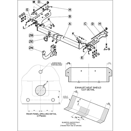 Witter Sy13as Fixed Swan Neck Tow Bar