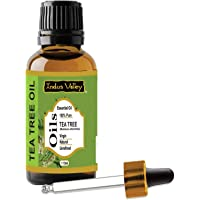 Indus valley 100% pure and natural tea tree essential oil for hair & face (15ml)