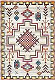 nuLOOM Richelle Tribal Medallion Area Rug, 8' x