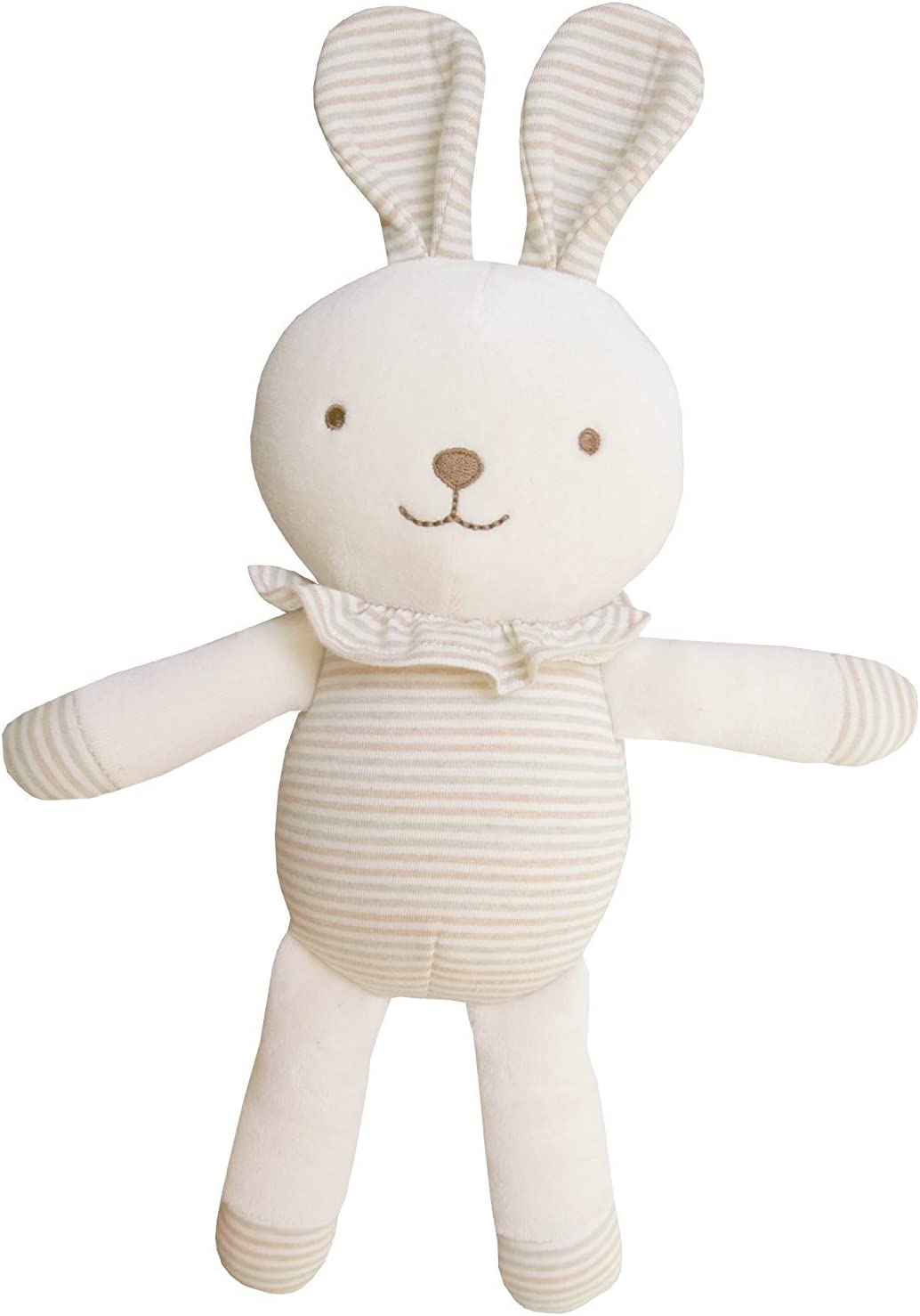 Made in New Zealand Squirrel Tree Organic Cotton Baby Gift Set with Bib Beanie and Teething Toy