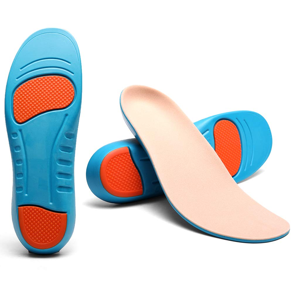 UBUJI Medical Grade Plantar Fasciitis Inserts - Professional Arch Support Shoe Insert Doctor Recommended & Scientifically Proven Design Shoe Inserts Insoles Women Men Gel Insoles for Plantar Fasciitis