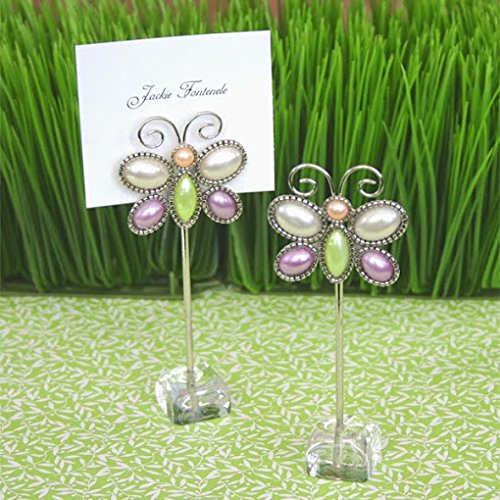 96 ''Love is Aflutter'' Butterfly Place Card Holders