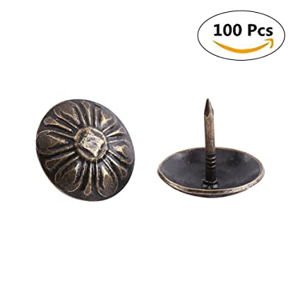 Etonnant 100pcs Antique Bronze Upholstery Nail Wood Decorative Tack Stud For Home  Furniture Decor (Size: