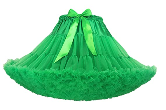 7a23c2003c Fluffy Women's Tutu Skirt Adult Tulle Short Petticoat with Ruffles 8 Colors