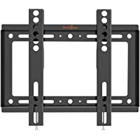 Perlegear TV Wall Mount Fixed Bracket for Most 17-42 Inch LED, LCD OLED and Plasma Flat Curved Screen TVs, up to VESA…