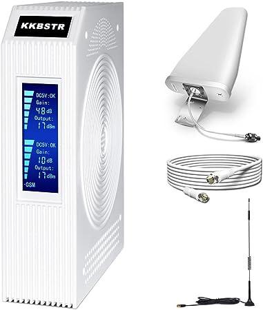 KKBSTR Amplificador de Señal de Teléfono Celular, Kit ...