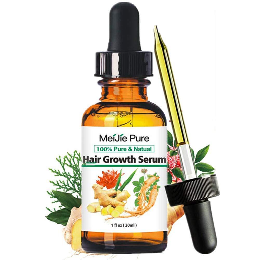 Hair Growth Serum, 2021 Hair Growth Treatment, Hair Serum, Anti Hair Loss, Thinning, Balding, Repairs Hair Follicles, Promotes Thicker, Stronger Hair, And Promotes Hair Regrowth : Beauty