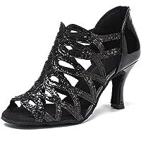 Lentejuelas Cuero sintético Mujer Zapato de Baile Latino