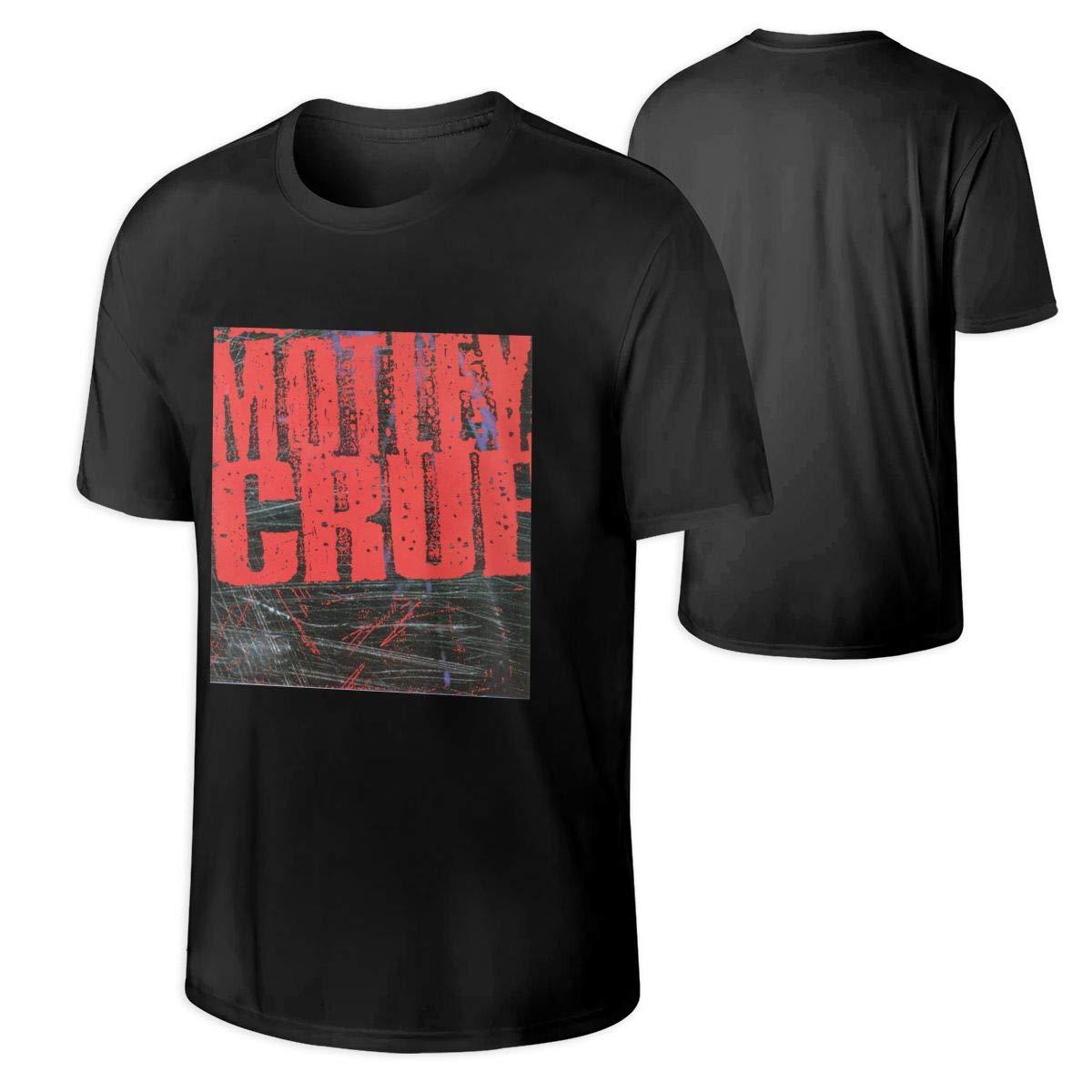 S Motley Crue Mtley Cre Leisure Summer Tshirt