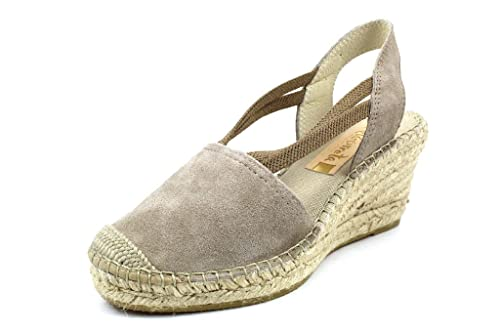 VIDORRETA Alpargatas Para Mujer, Color Gris, Talla 38 EU: Amazon.es: Zapatos y complementos