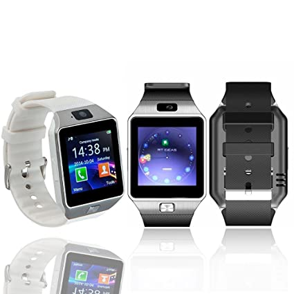 fdc5a835ccf5 VAK Reloj Smartwatch VH-iWatch Bluetooth Camara Celular Android iPhone -  Blanco