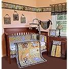 SISI Baby Bedding - African Safari 15 PCS Crib Bedding Set