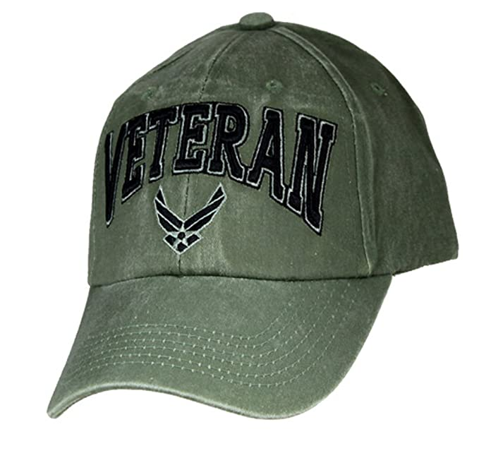 Amazon.com  U.S. Air Force Veteran Cap. OD Green  Clothing 42e96abed123
