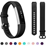 Kutop Bands Compatible for Fitbit Alta Fitbit Alta HR, Silicone Adjustable Replacement Sports Accessories Band