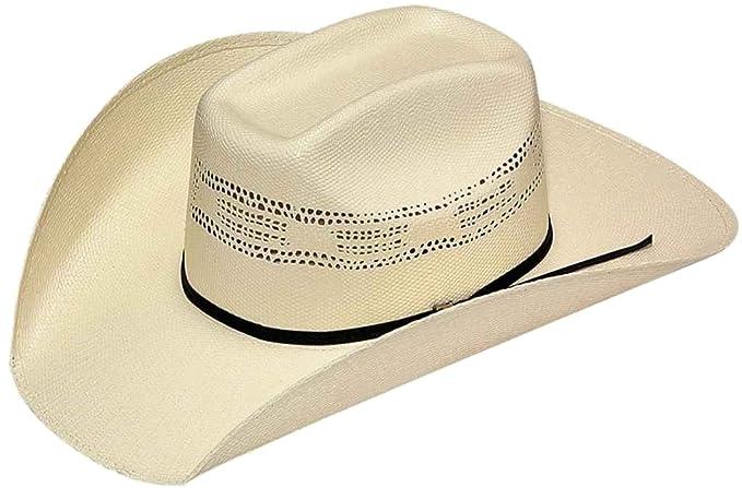 b7a13d909debc8 Twister Men's Bangora Straw Cowboy Hat at Amazon Men's Clothing store: