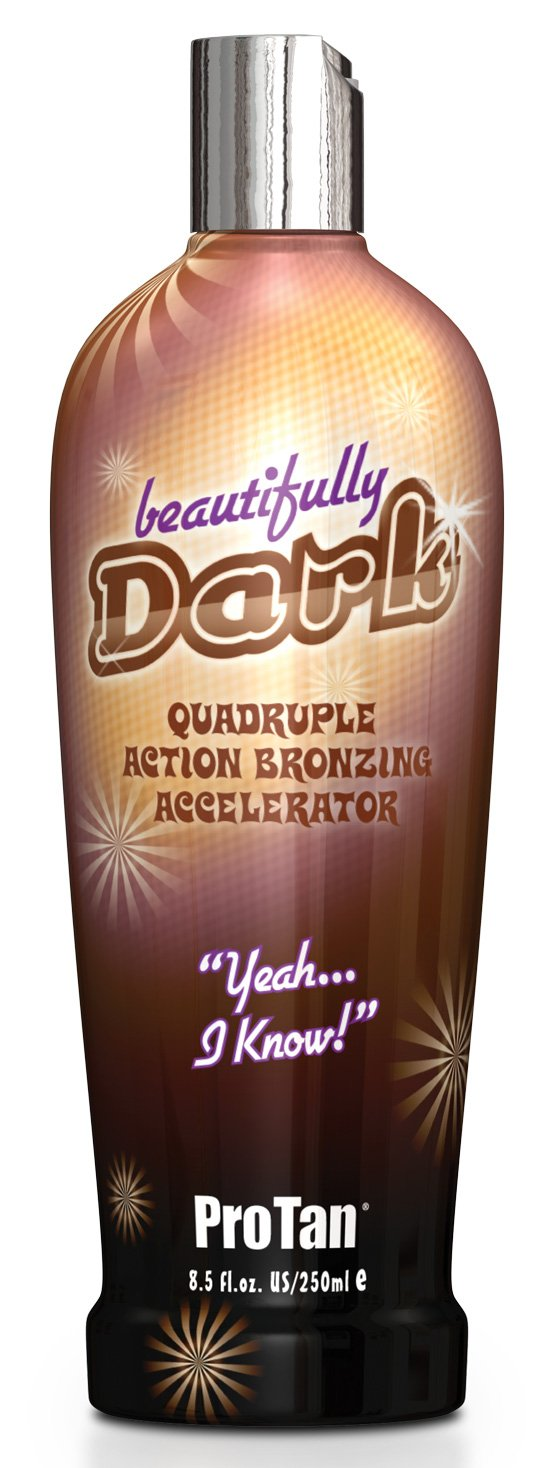 ProTan Pro Tan Beautifully Dark Bronzer Indoor Tanning Salon Bronzing Tan Lotion 8.5 fl oz 250mL e 8.5 Oz PT1083