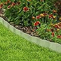 Pure Garden 50-197 Galvanized Steel Lawn Edging