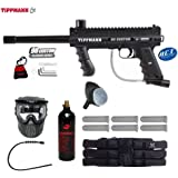 Tippmann 98 Custom Platinum Series Titanium Paintball Gun Package