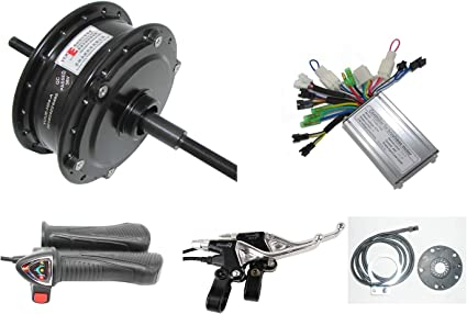 "E-Bike Kit Conversion 350//250w 26//28/"" Roue Arrière Moyeu moteur LCD moteur umrüstungs-Kit"