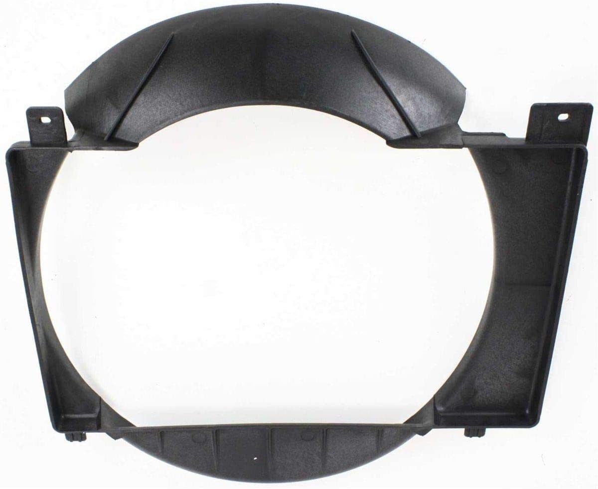Engine Cooling Radiator Fan Shroud for 1986-2001 Jeep Cherokee fits 52027501AC