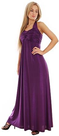 Kleid dunkel lila