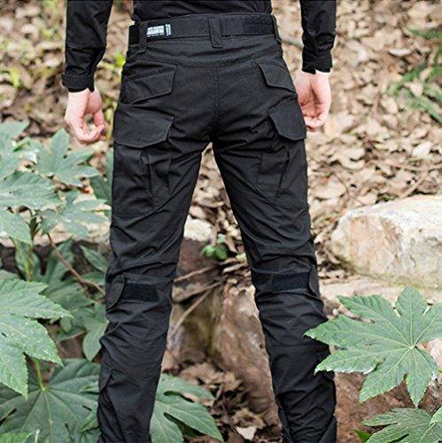 YuanDiann Homme Tactique Pantalon De Camouflage Militaire Multi-Poches Respirant Imperméable Armée Battle Trekking… 4