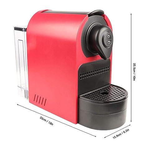 Cafetera, Máquina de café espresso portátil de cápsula roja(US ...