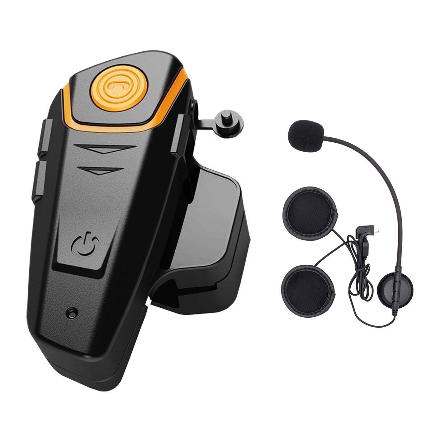 ENCHICAS 2x BT S2 Intercomunicador Casco Moto Manos Libres Auriculares Sistema de Comunicació n por Bluetooth para Motocicletas Victory Technology BT-S2