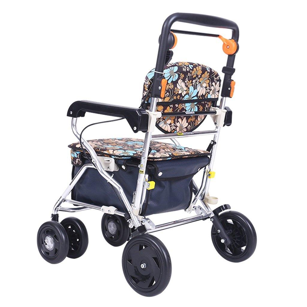 2019年春の パッド付きシート、ロック可能なブレーキ home、人間工学に基づいたハンドル、キャリーバッグ、限定可動性援助付きの折りたたみ式四輪車用ウォーター Ailin Ailin home B07LFXTFTJ B07LFXTFTJ, ベビー寝具専門ブランド「Rafens」:cf4cd7af --- a0267596.xsph.ru
