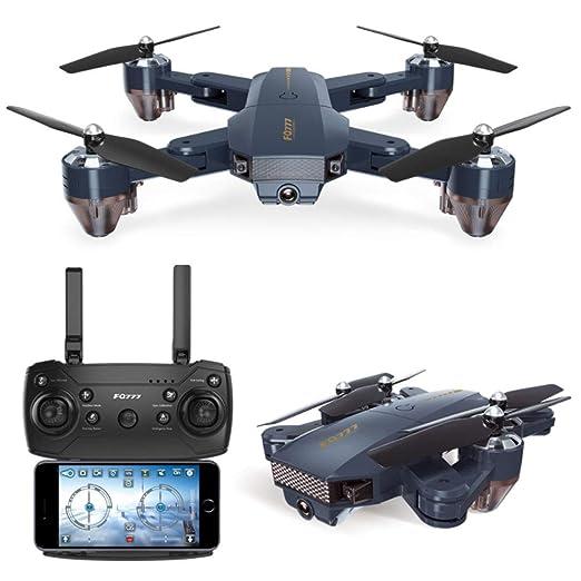 YLIK Drone GPS con la cámara para Adultos, 720P HD FPV vídeo en ...