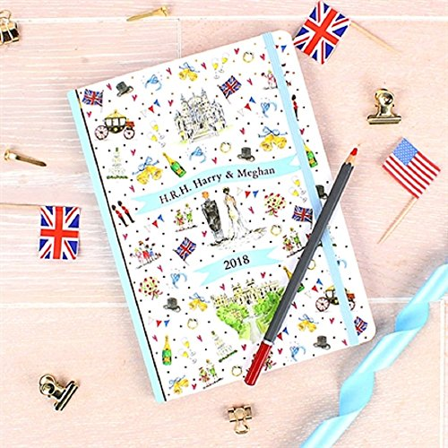- Milly Green Royal Wedding A5 Notebook to Celebrate the Wedding of HRH Prince Harry to Meghan Markle