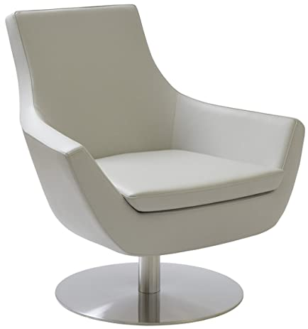 Soho Concept SS-Br Rebecca Swivel Chair with Stainless Steel Base Brown Leatherette  sc 1 st  Amazon.com & Amazon.com: Soho Concept SS-Br Rebecca Swivel Chair with Stainless ...
