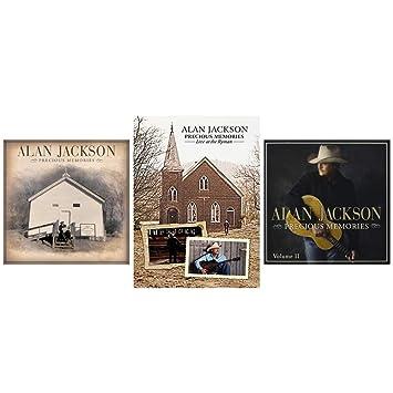 Alan Jackson Alan Jackson Precious Memories Volumes 1 2 Cds