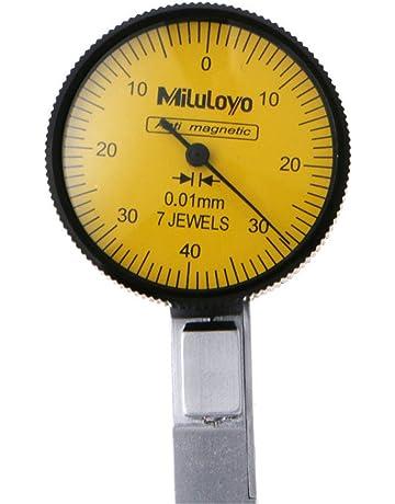 Indicador de nivel de precisión de 0 – 0,8 mm, escala métrica de