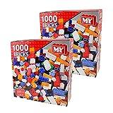 Guaranteed4Less Kids Building Bricks Toys Blocks Set 1000 Piece Compatible Lego Construction (2)
