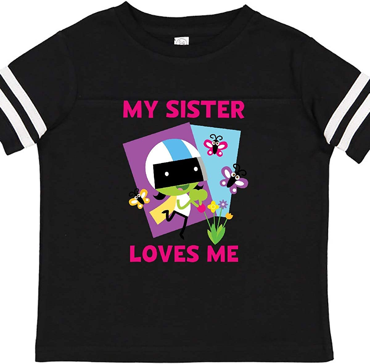 PBS Kids inktastic My Sister Loves Me with Dee Toddler T-Shirt