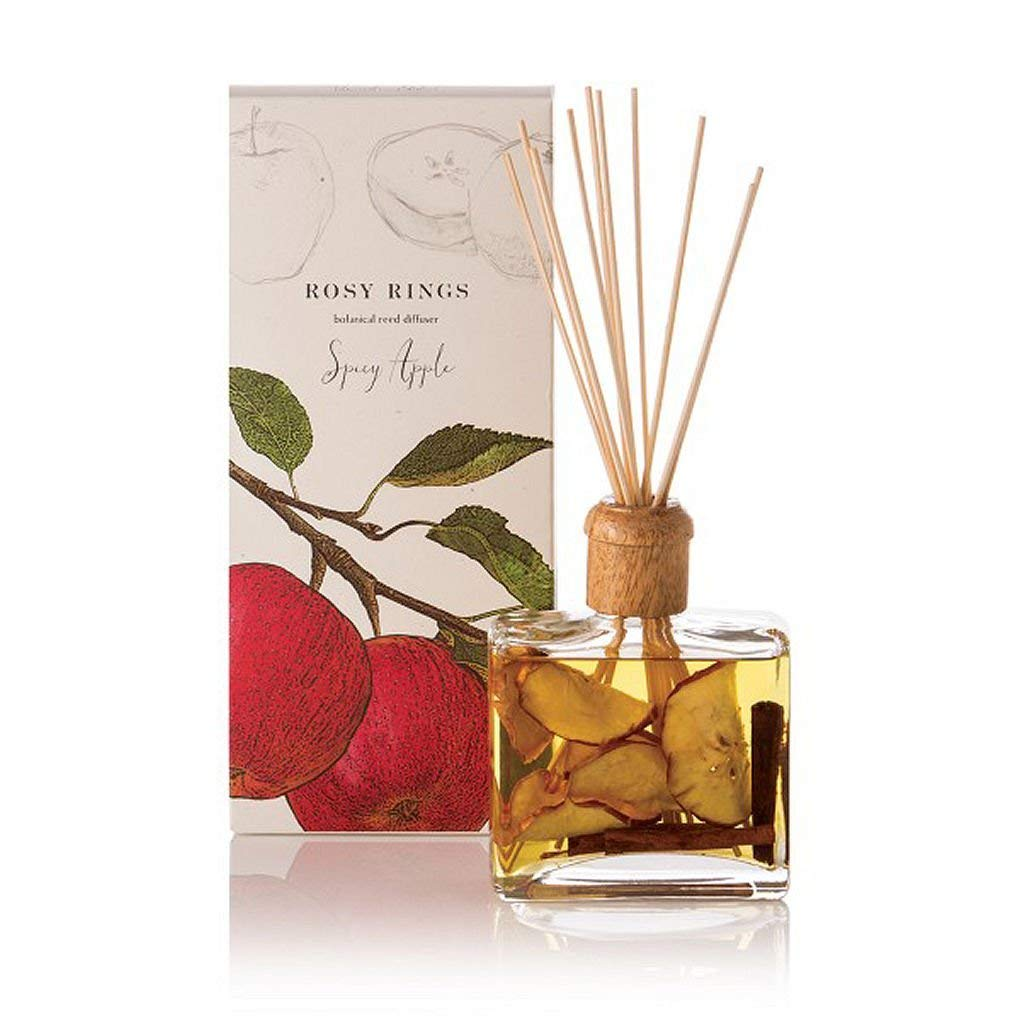 Rosy Rings Botanical Reed Diffuser, Spicy Apple