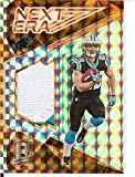 Football NFL 2017 Spectra Next Era Neon Orange #8 Christian McCaffrey MEM 2/5 Panthers
