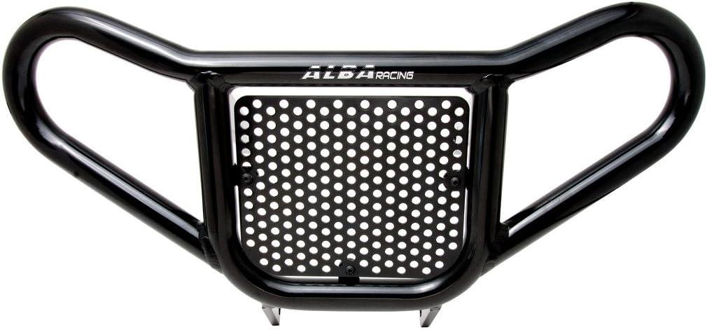 Amazon.com: Deluxe – ATV Negro Front Bumper Bundle con Grab ...