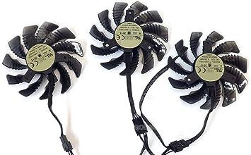 Amazon.com: 75 mm 4Pin VGA ventilador para Gigabyte gv ...