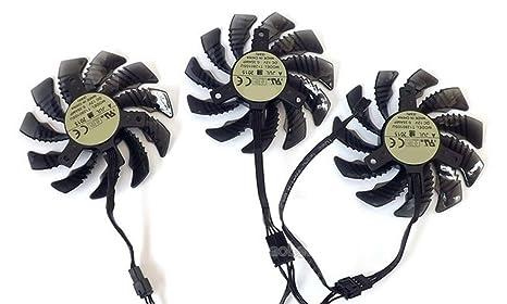 75mm 4Pin VGA Fan For Gigabyte GV-N98TG1 GAMING-6GD gtx980ti Graphics Card  Cooling Fan (0 35A)