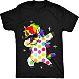HippoGem Spotty Dabbing Unicorn - Children - Support Charity Donation Unisex-Children T Shirt