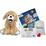 """Make Your Own Stuffed Animal """"Goldie The Lab/Retriever"""" - No Sew - Kit With Cute Backpack!"""