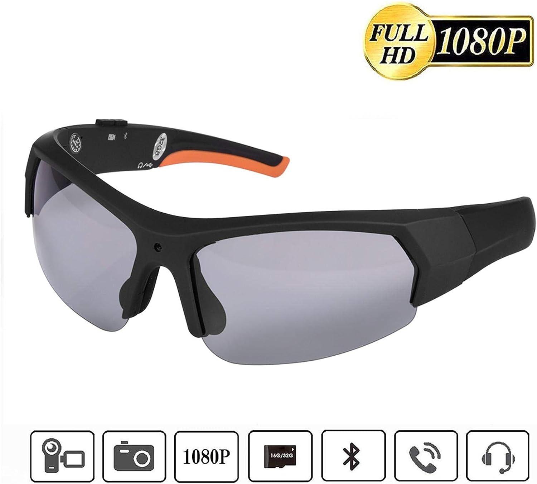 Camera Video Sunglasses,1080P Full HD Video Recording Camera,Shooting Camera Glasses,Cycling,Driving,Hiking,Fishing,Hunting