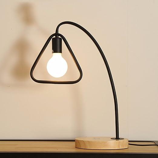 XHOPOS HOME Lámpara de mesa lámpara de escritorio LED lámpara de ...