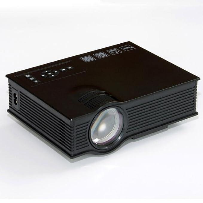 Tongshi Nueva UC40 + Pro LED de cine en casa Cine Juego proyector ...
