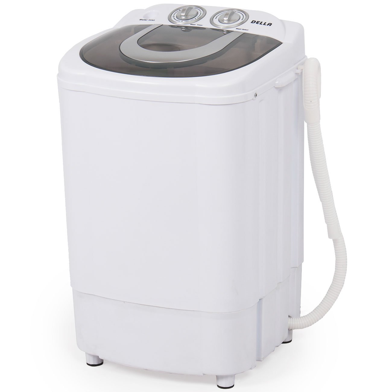 Amazon.com: Della Mini Portable Washing Machine Spin Wash 8.8 Lbs Capacity  Compact Laundry Washer For Clothes, Garments: Appliances